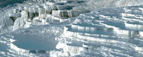 Pamukkale ein geologisches Wunder