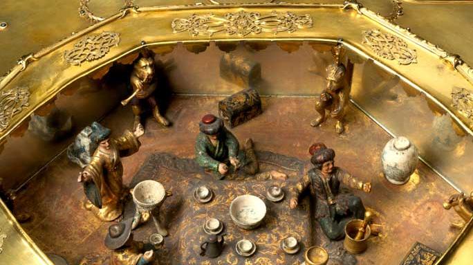 Osmanische Kunsthandwerks in Karlsruher Museum