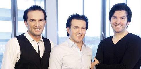 Bild: Brüder Faruk Yerli, Avni Yerli und Cevat Yerli