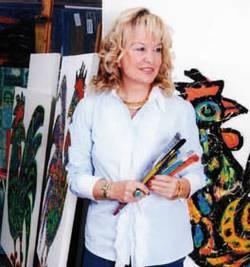 Kunst aus der Welt der Zeichen mit Jale Yïlmabasar