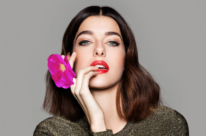 Make-up Looks setzen Highlights