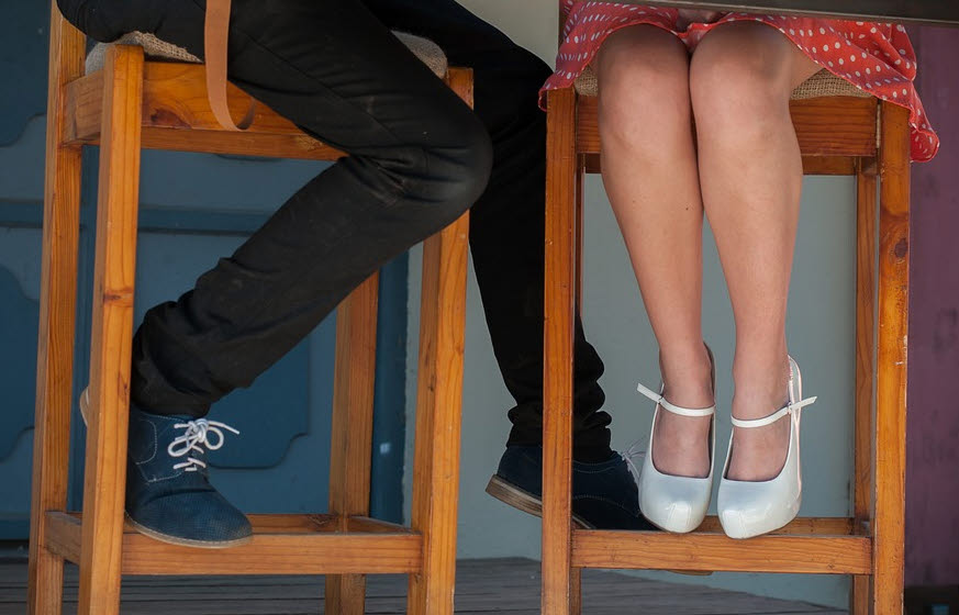 Welchen Schuh trägst Du?