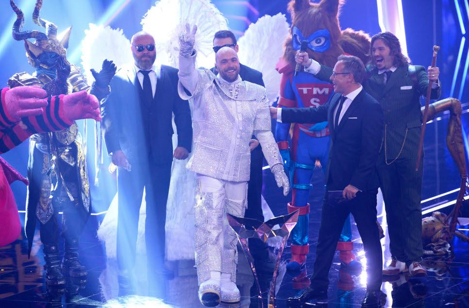 """Astronaut Max Mutzke gewinnt """"The Masked Singer"""""""