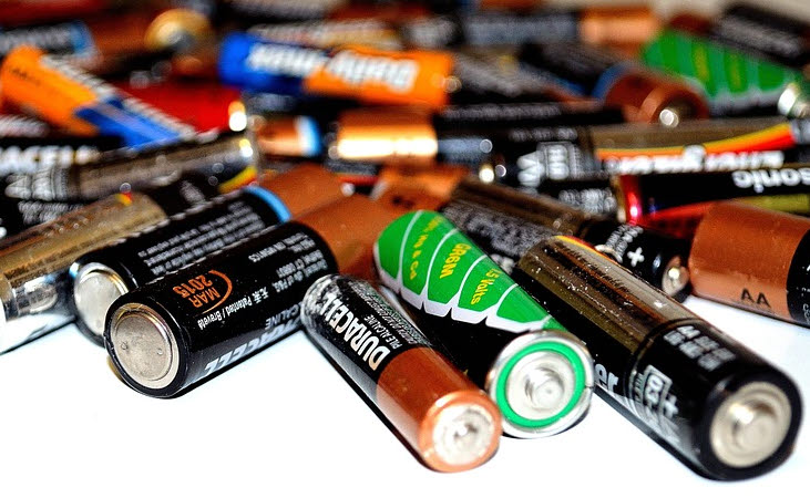 Recyclingprogramm für Batterien