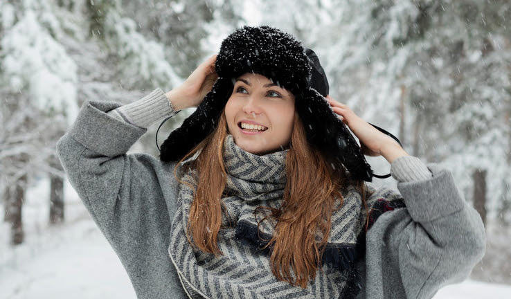 Die richtige Hautpflege im Winter